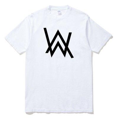 Alan Walker Logo 艾倫沃克 全球百大DJ 短袖T恤 6色 電音舞曲派對EDM