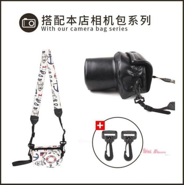 相機背帶 拍立得相機帶卡通微單相機肩帶單眼相機背帶掛脖斜背 佳能尼康索尼相機通用[優品生活館]