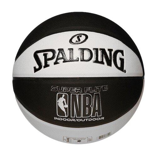 Spalding Super Flite [SPA76351] 籃球 7號 合成皮 深溝 穩定 手感佳 室內外 黑白