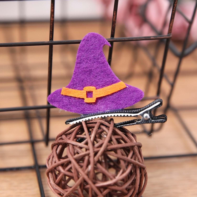 萬聖造型髮夾-巫師帽