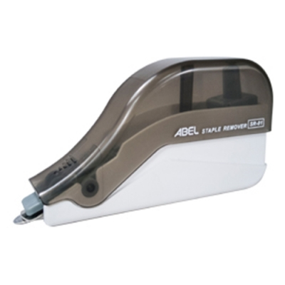 【ABEL】事務輕巧推除針器-黑-插卡裝