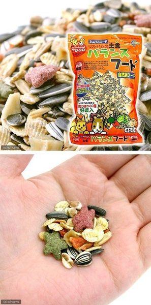 《 日本Marukan》團購限量-鼠營養均衡主食2包 倉鼠、楓葉鼠、黃金鼠飼料MR-525