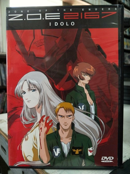 挖寶二手片-B06-095-正版DVD-動畫【Z.O.E 2167】-日語發音(直購價)