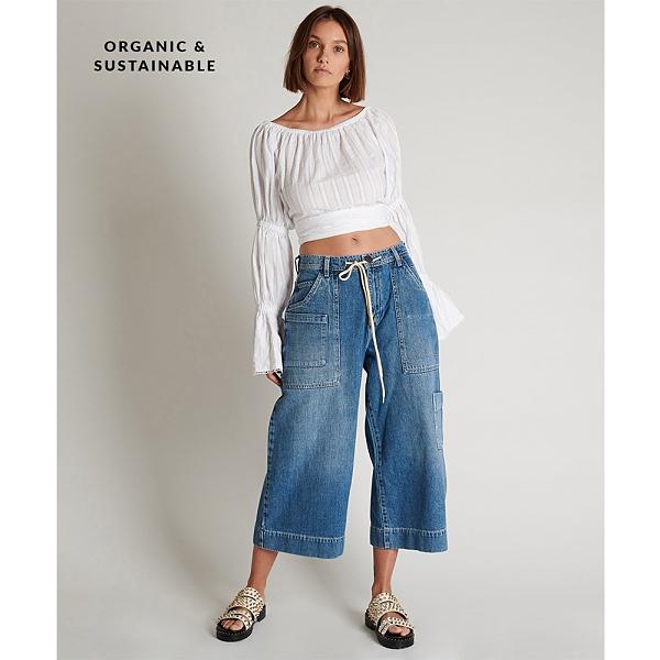 ONETEASPOON DELAWARE HW牛仔褲- 藍