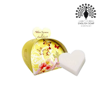 The English Soap Company 乳木果油植萃香氛皂-茉莉檀香 White Jasmine and Sandalwood 60g
