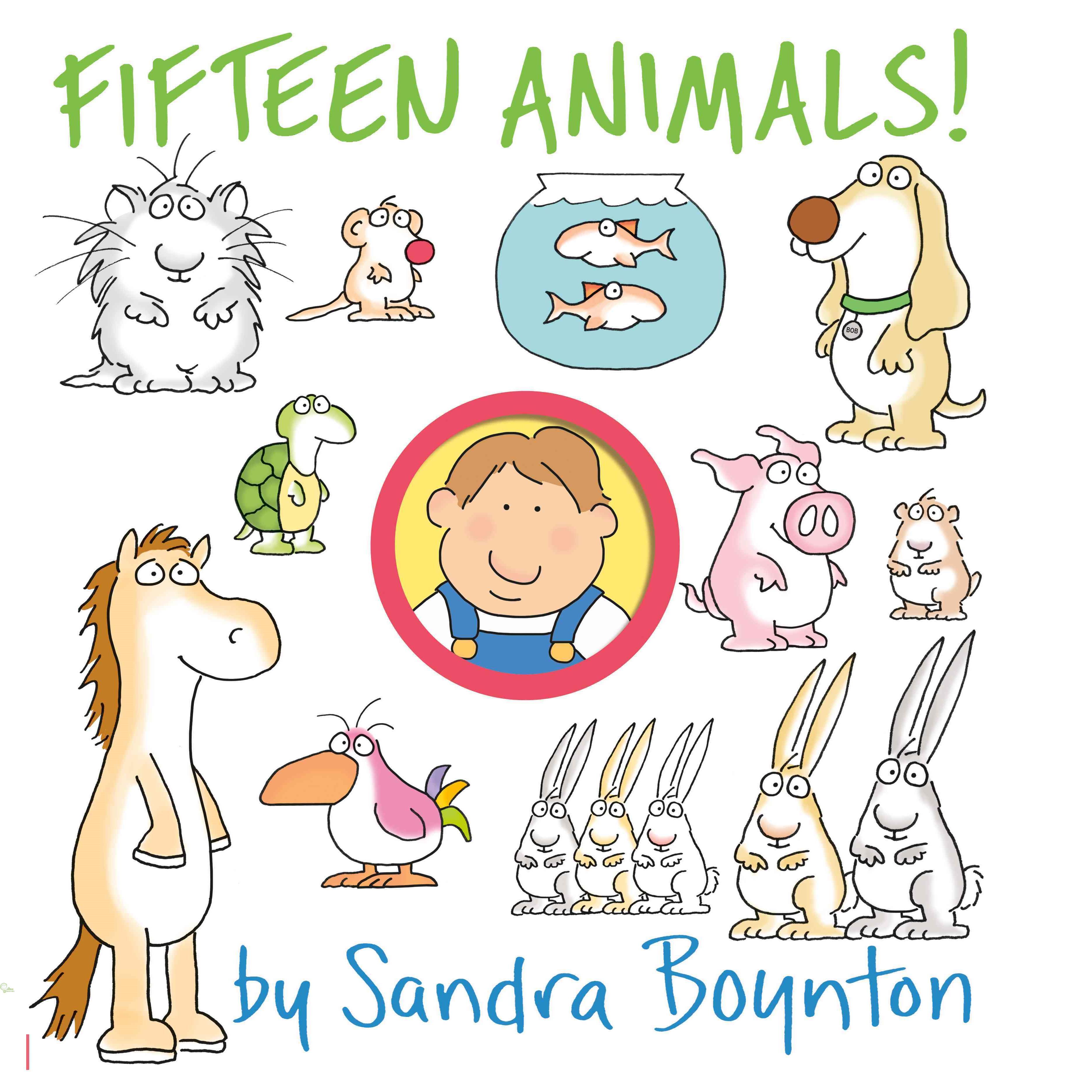 Fifteen Animals 【禮筑外文書店】(硬頁書)[79折]