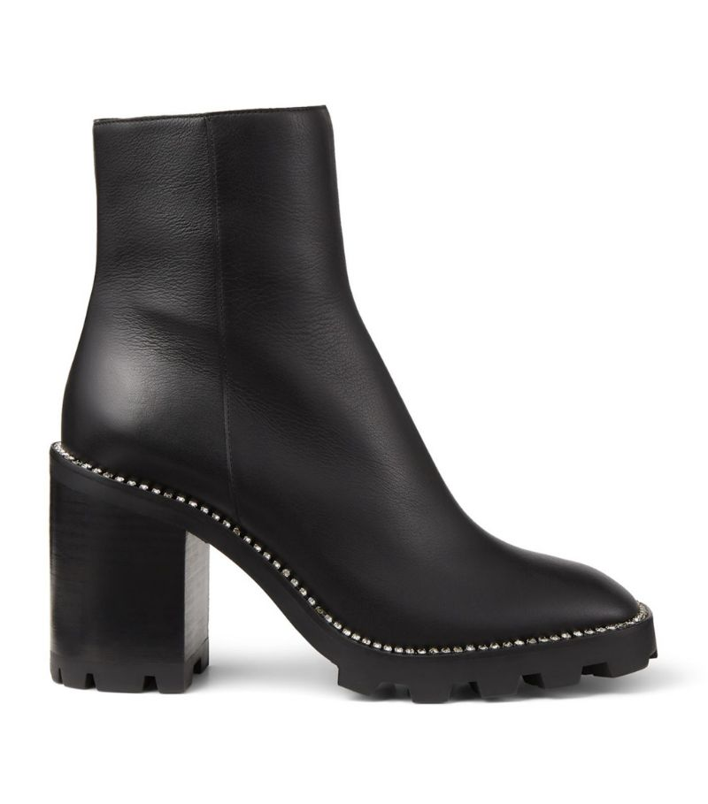 Jimmy Choo Mava 85 Leather Boots