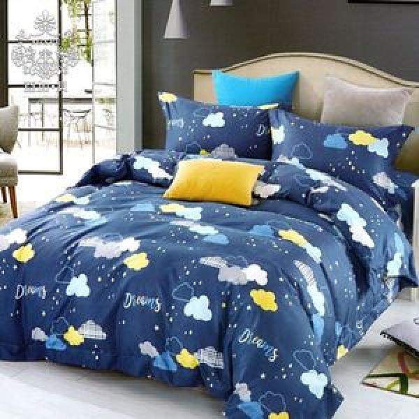 AGAPE 亞加‧貝《夢境朵朵》MIT舒柔棉單人3.5尺兩件式薄床包組
