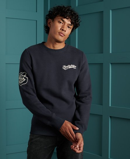 Superdry Reworked Classics Applique Sweatshirt
