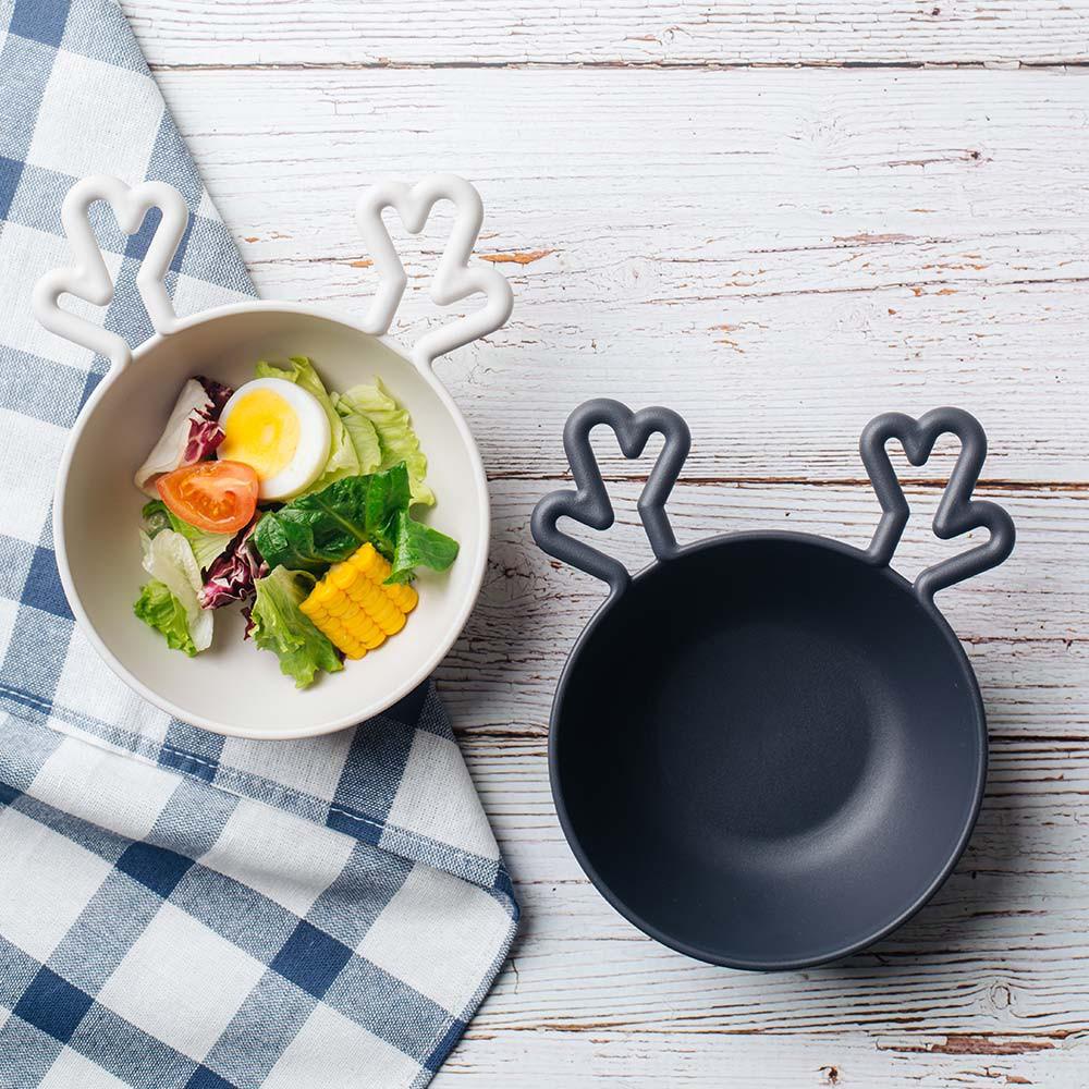 【韓國nineware】動物造型蓋碗(麋鹿)-共4色 野餐碗《屋外生活》