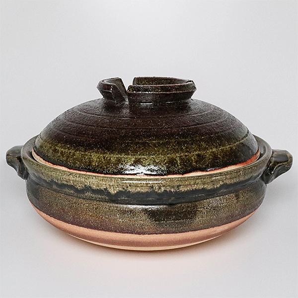 日本陶鍋【信樂燒】清流 9號 土鍋 砂鍋 日本製陶瓷