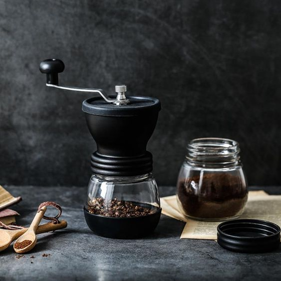 咖啡磨豆機迷你手動咖啡機手搖咖啡豆研磨器家用粉碎器陶瓷芯