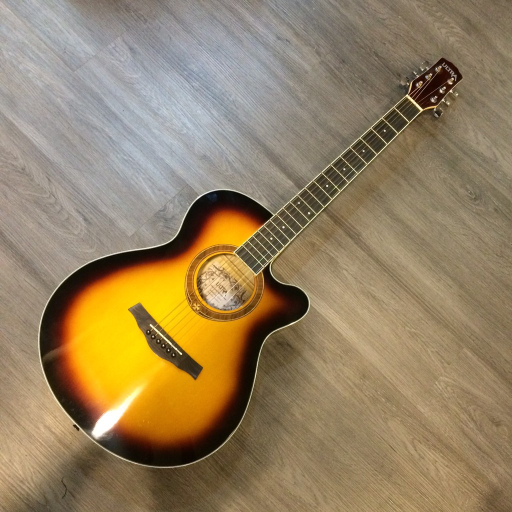 ULTRA B236 民謠吉他 木吉他 40吋 附琴袋 背袋 Capo夾 pick【宛伶樂器】