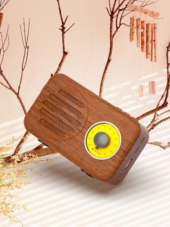 山水T1迷你卡通可愛少女心禮物隨身無線藍牙音箱復古手機插卡小音響便攜式重低音 秋冬新品特惠