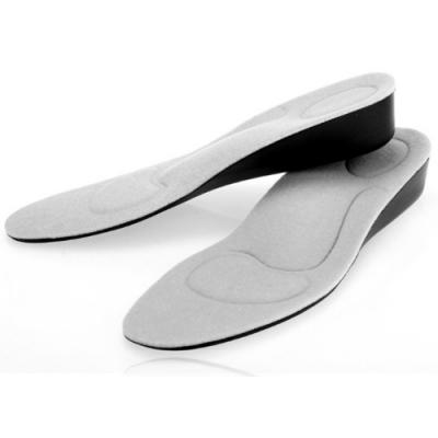 JHS杰恆社abe145高2.5cm隱形足弓回彈鞋墊內增高減震透氣按摩舒適運動另有1.5 2.5 3.5 4.5cm