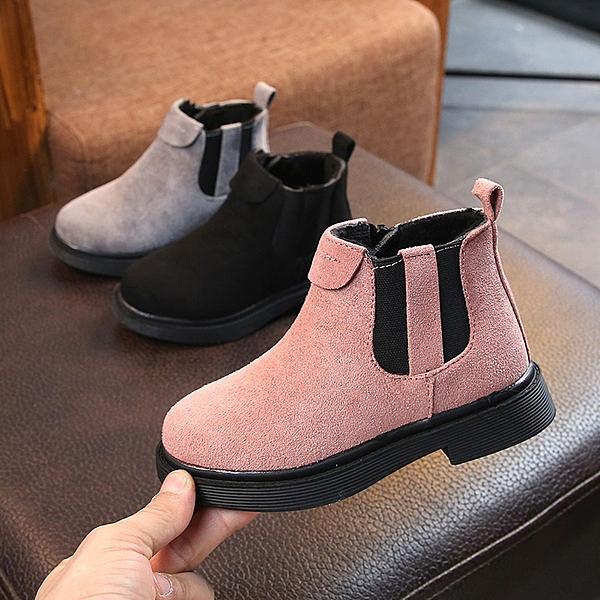 童鞋女童靴子2020秋冬季新款兒童馬丁靴加絨公主短靴二棉鞋雪地靴