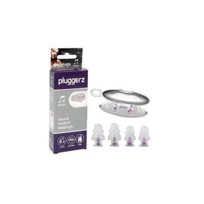 【Pluggerz】荷蘭進口  音樂耳塞 聲音濾波器 (1大1小2副裝)