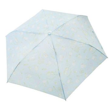 角落生物 恐龍 頭型柄折疊雨傘《藍.冰淇淋》折傘.雨傘.雨具