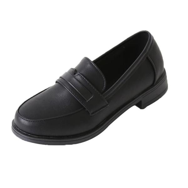 樂福鞋新款皮鞋女