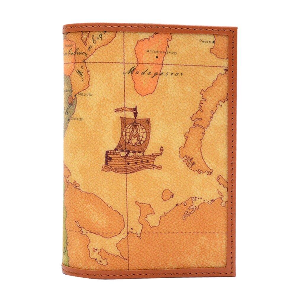 【Alviero Martini 義大利地圖包】地圖包 經典護照夾