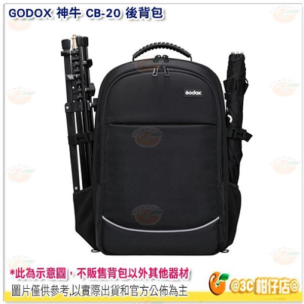神牛 GODOX CB-20 後背包 相機包 攝影包 攝影器材大容量 雙肩 公司貨