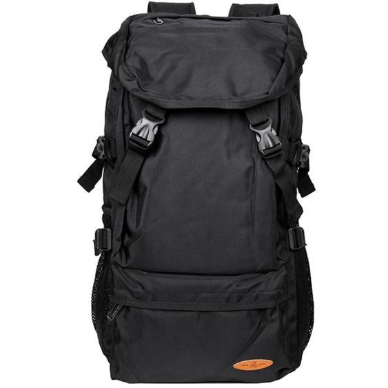 大容量後背包男行李旅游背包簡約休閒書包步戶外輕便登山女旅行包