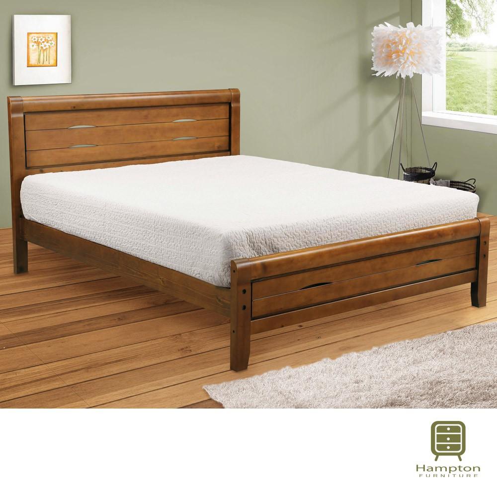 【Hampton 漢汀堡】艾西6尺雙人床架(雙人加大/床頭片/床底)