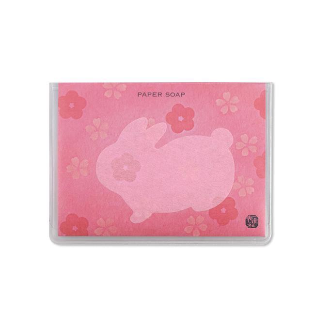 表現社Die-Cut Paper Soap/ Rabbit/ Rose/ 40入/紙香皂 誠品eslite