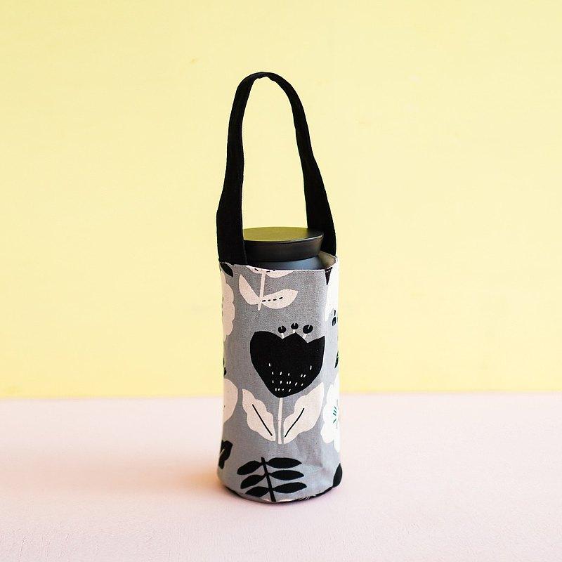 環保新年禮  飲料袋 灰桔梗の花