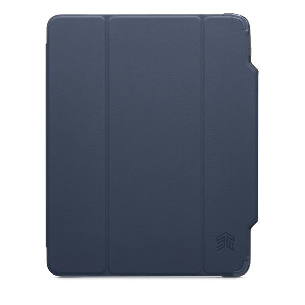 STM Dux Studio (適用於 iPad Pro 12.9 吋第 3 代與第 4 代) - 午夜藍色