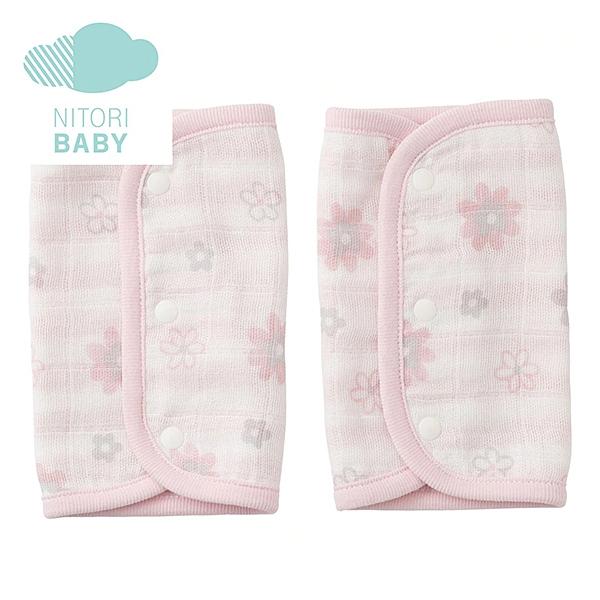 背帶口水巾 FLOWER PI 嬰兒用 NITORI宜得利家居