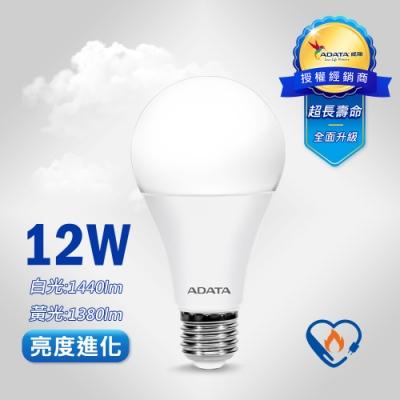 (6入組)威剛 12W LED 燈泡 (2020年節能標章)