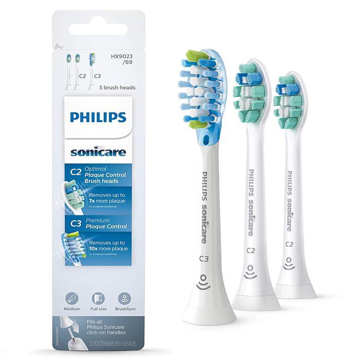 【美國代購】飛利浦Sonicare HX9023 / 69正品牙刷頭多款組合裝 白色