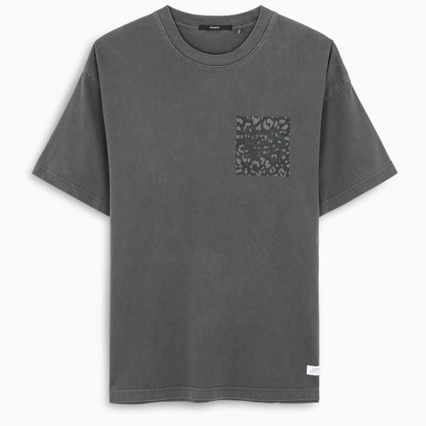 Stampd Grey logoed t-shirt