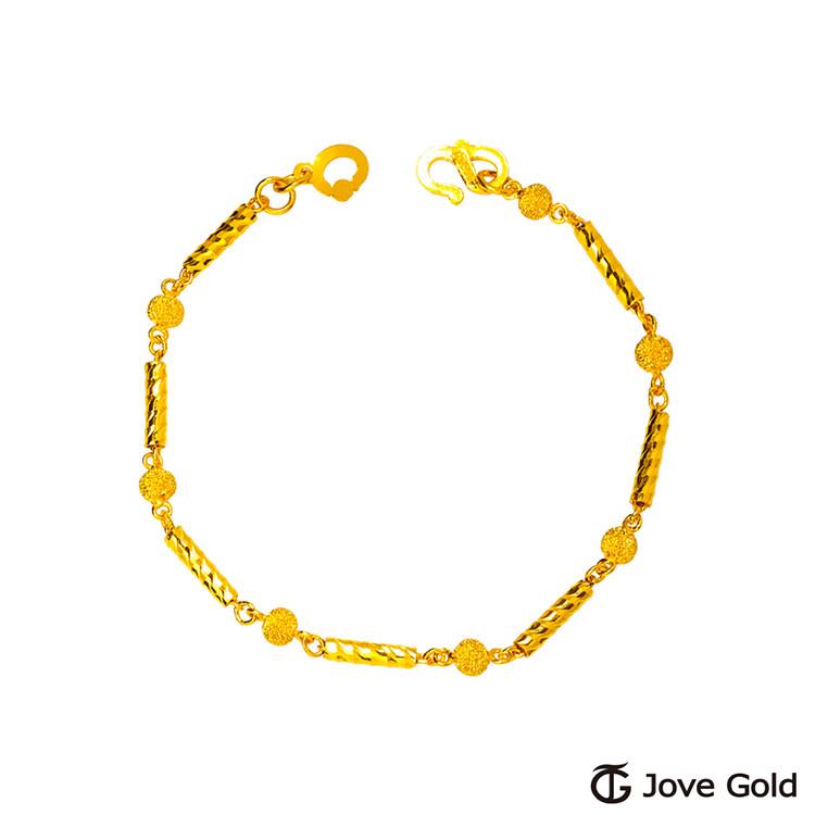 jove gold 漾金飾 光陰黃金手鍊