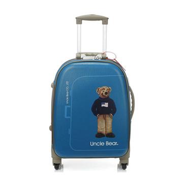 UNCLE BEAR【28吋】高科技防水旅行箱(藍色)UB1028-B