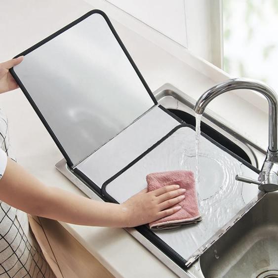 防油擋板 煤氣灶擋油板廚房炒菜隔油隔熱板家用灶臺耐高溫防濺油擋板