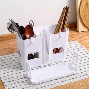 筷籠 筷子筒壁掛式筷籠子瀝水架托創意家用筷籠筷筒廚房餐具勺子收納盒