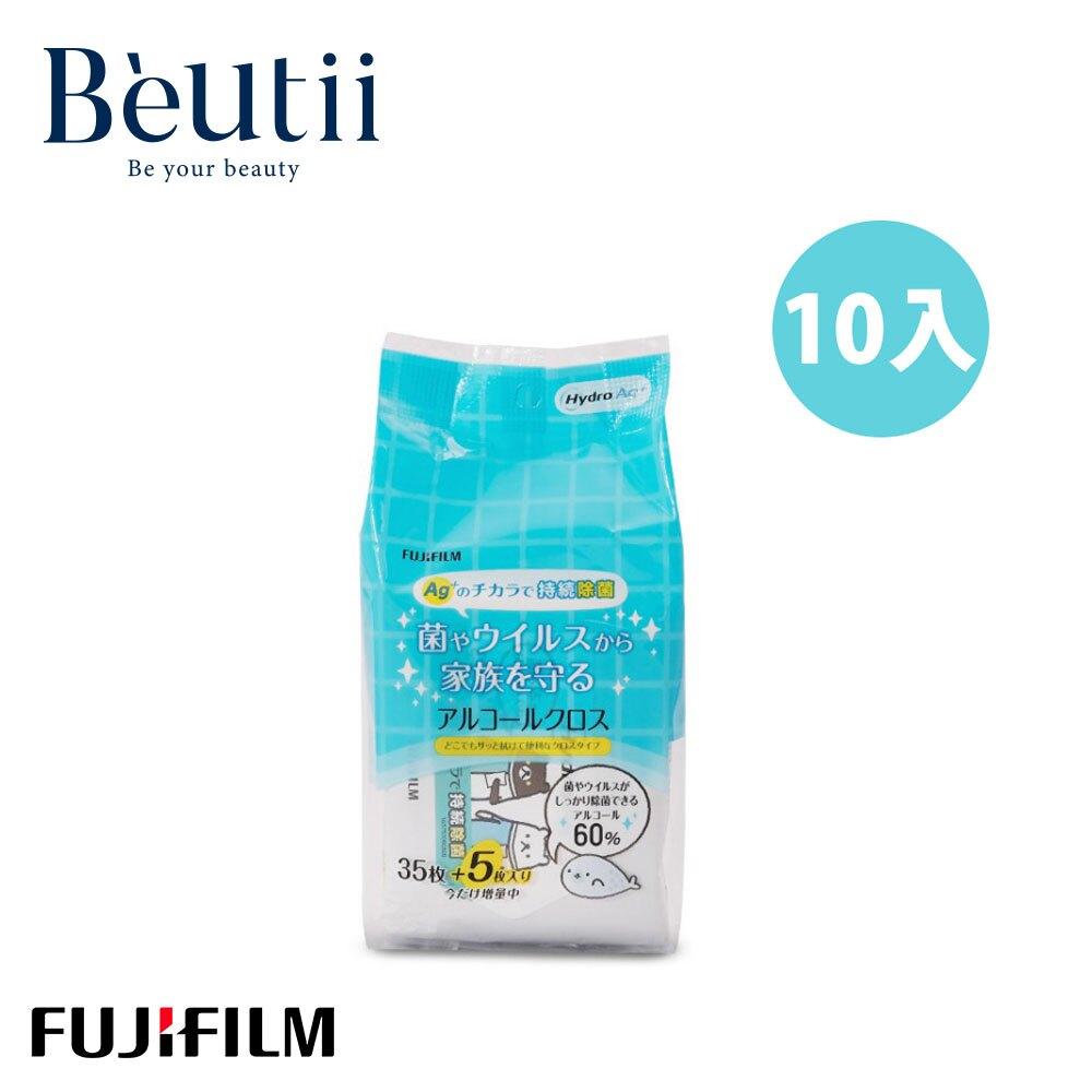 Fujifilm 日本富士 Hydro 長效型持續除菌濕紙巾 40抽 x 10入組