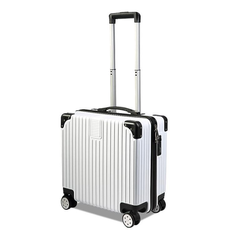 樂天優選-行李箱ins網紅輕便小型拉桿密碼旅行箱子女小號20男18寸韓版抖音  ATF