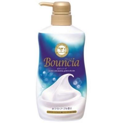 日本 牛乳石鹼 Bounica美肌保濕沐浴乳 皂香500ml