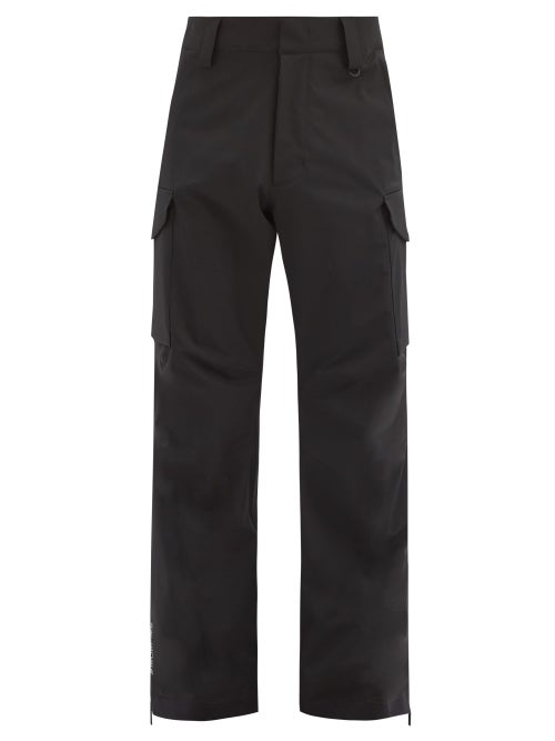Moncler Grenoble - Patch-pocket Technical-shell Ski Trousers - Mens - Black