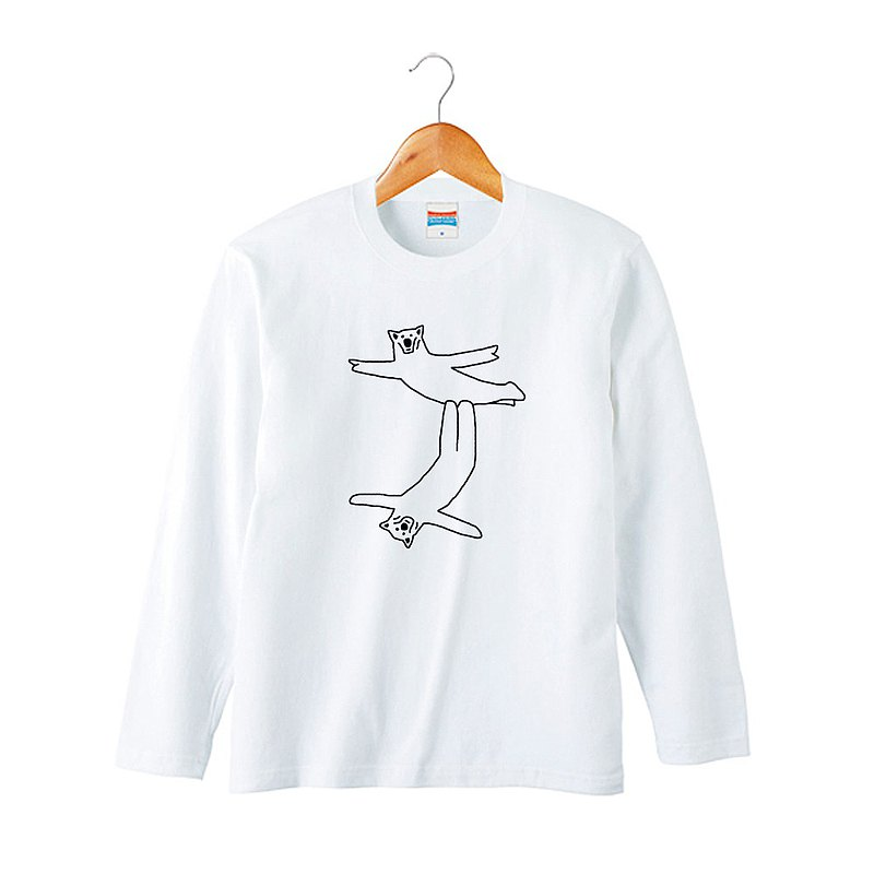 クマの組体操 #6 長袖T恤