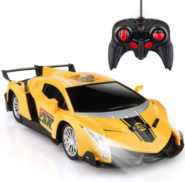 【美國代購】Growsland遙控車 遙控車聖誕禮物給孩子們1/18電動運動賽車