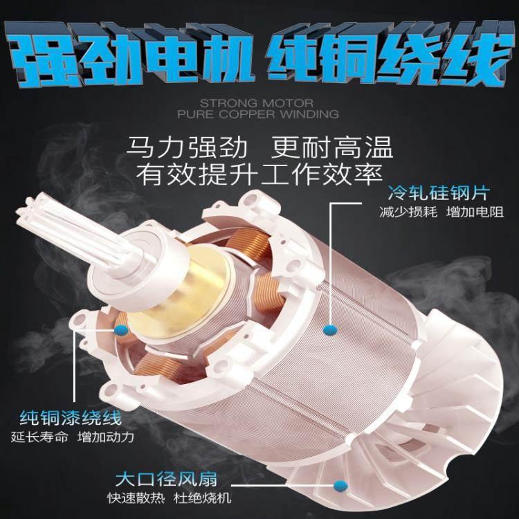 鼓風機 充電式鋰電吹風機工業電腦除塵器吹灰機大功率電動吹吸兩用鼓風機