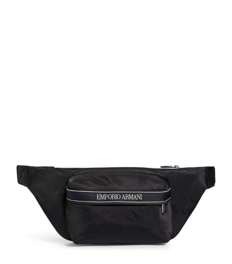 Emporio Armani Logo-Tape Belt Bag