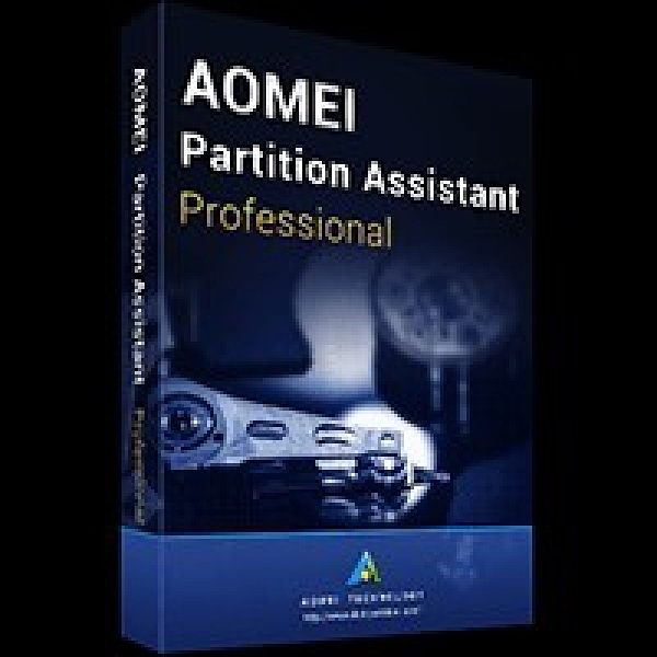 AOMEI Partition Assistant Professional 硬碟分割區管理工具 2PC