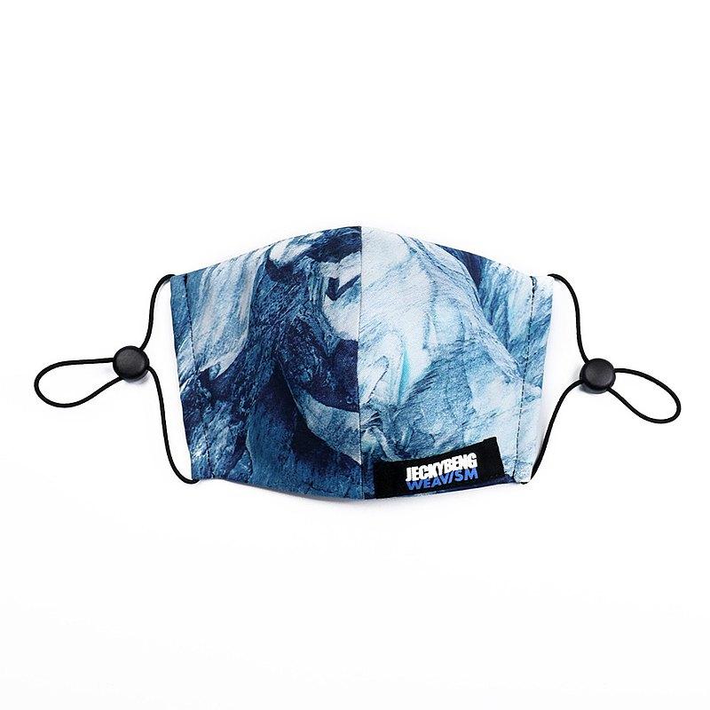 【國際雜誌推薦】立體抗菌 99.9% 口罩 - 冰山