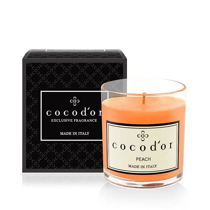 cocodor-香氛精油蠟燭130g-蜜桃Peach