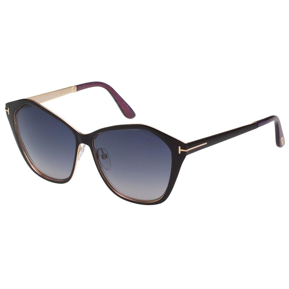 TOMFORD 時尚太陽眼鏡(黑色)TF391